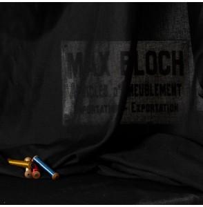 Voile 295cm 20 pourcent lin noir