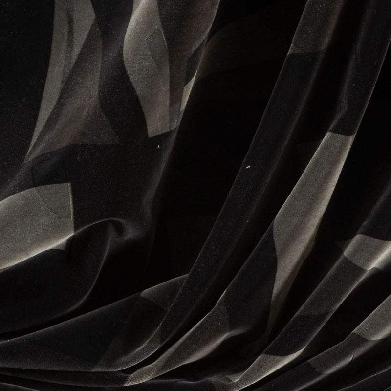 Tissu-velour-géométrique-anthracite