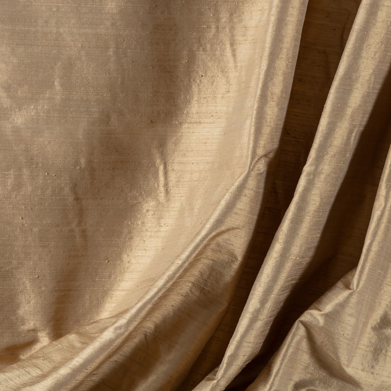 Tissu-soie-sauvage-beige-clair
