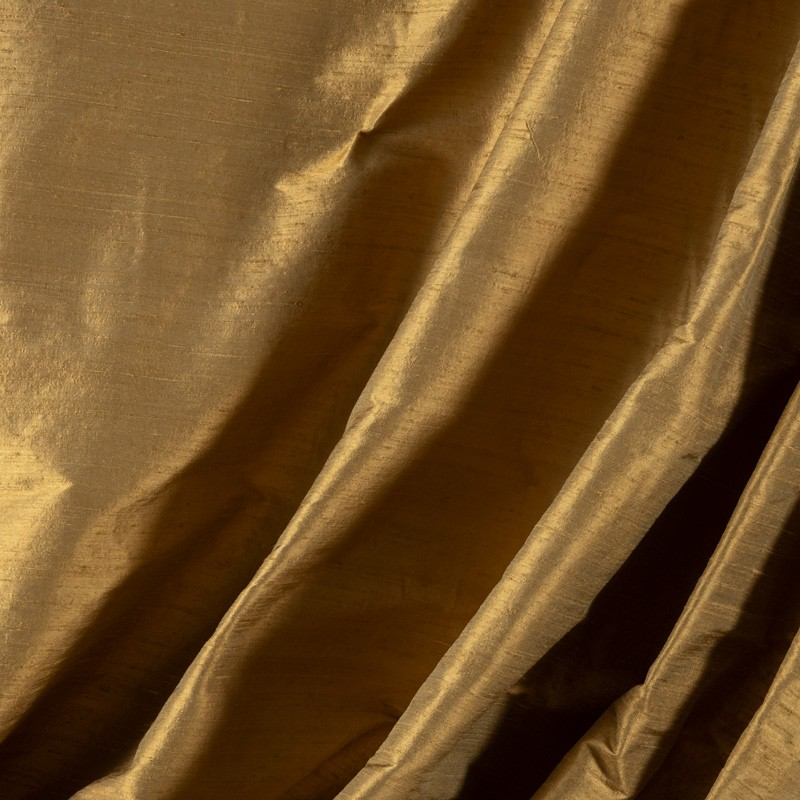 Tissu-soie-sauvage-beige-foncé