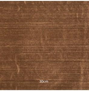 Tissu soie sauvage brun clair