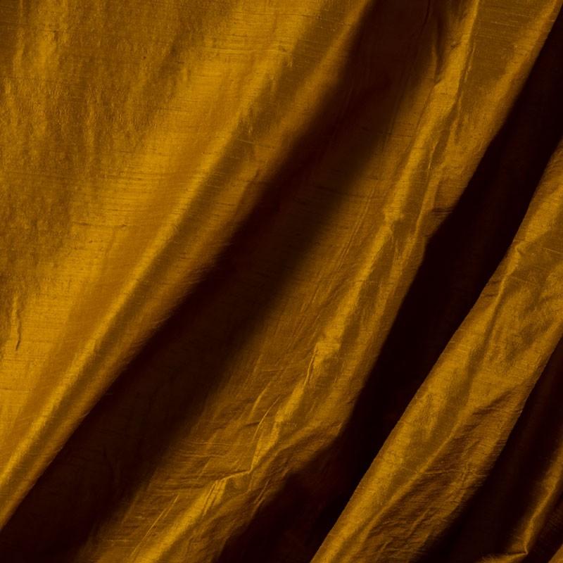 Tissu-soie-sauvage-cuivre