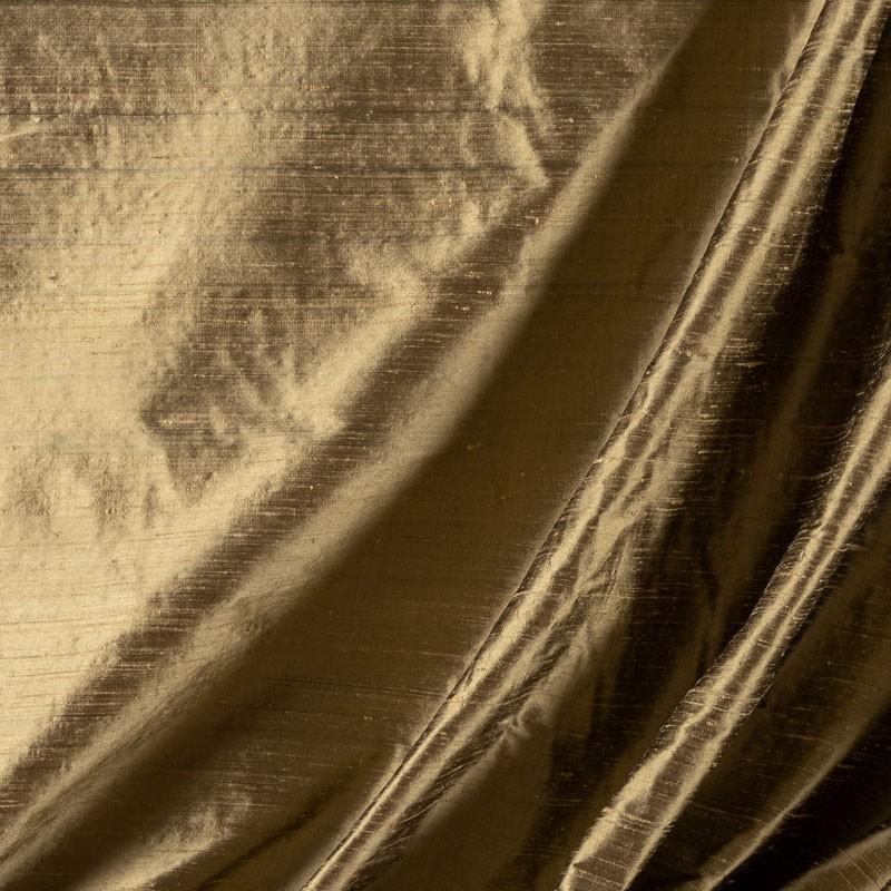 Tissu-soie-sauvage-vert-de-gris