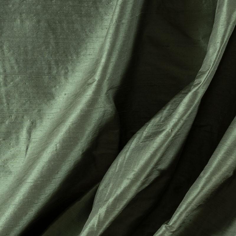 Tissu-soie-sauvage-vert-celadon