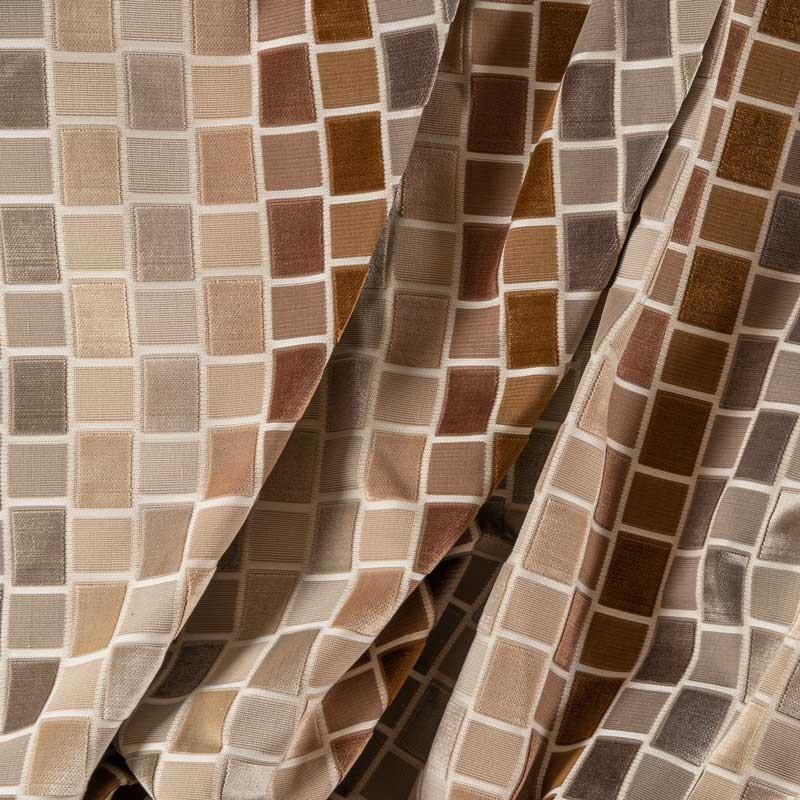 Tissu-velours-carreaux-beige