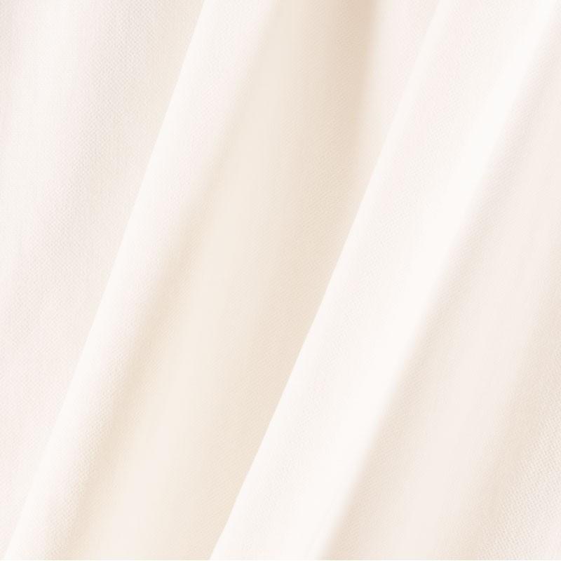 Tissu-lin-coton-gratté-blanc