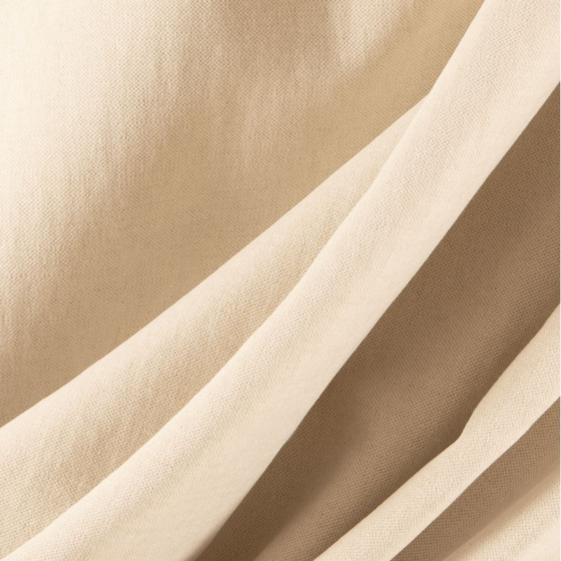 Tissu-lin-coton-gratté-naturel