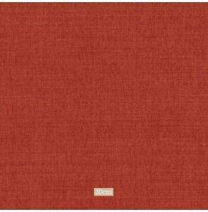 Tissu lin coton gratté brique