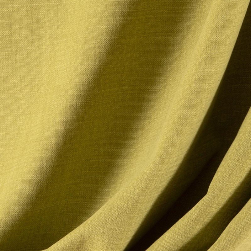 Tissu-lin-coton-gratté-vert-clair