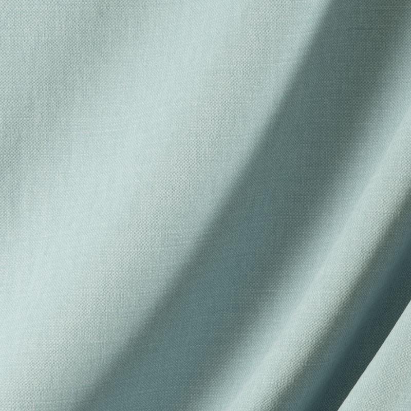 Tissu-lin-coton-gratté-bleu-clair