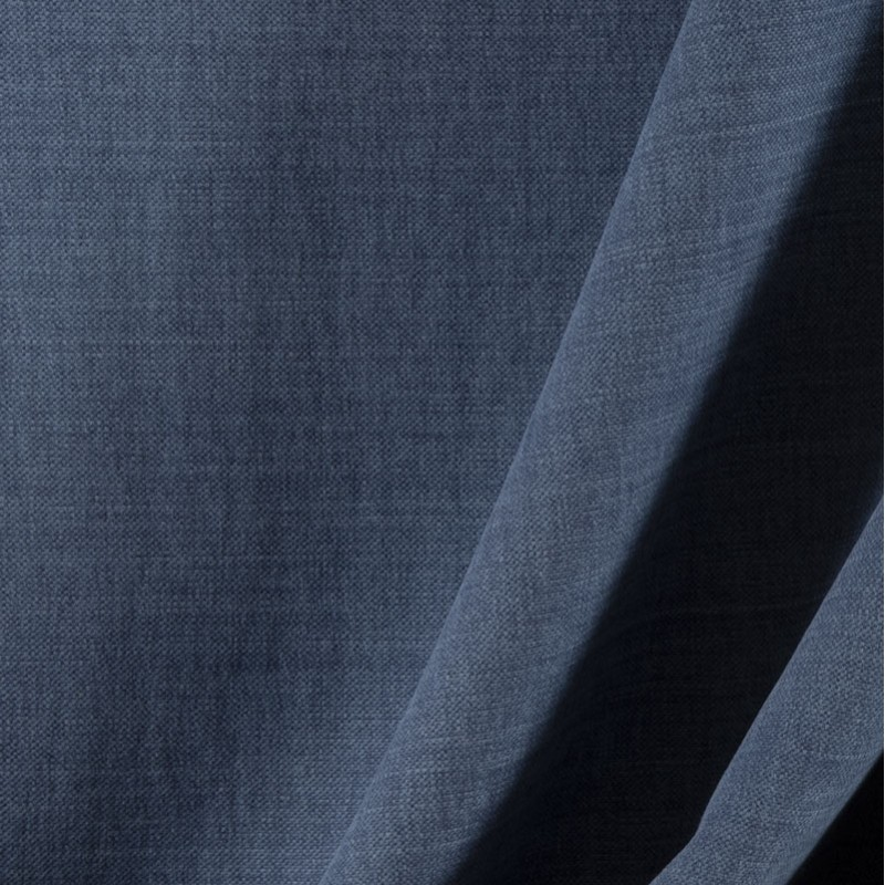 Tissu-lin-coton-gratté-bleu-foncé