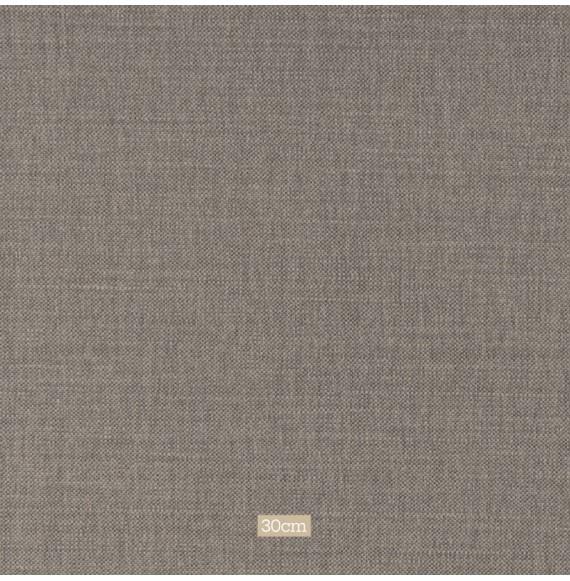 Tissu lin coton gratté gris foncé