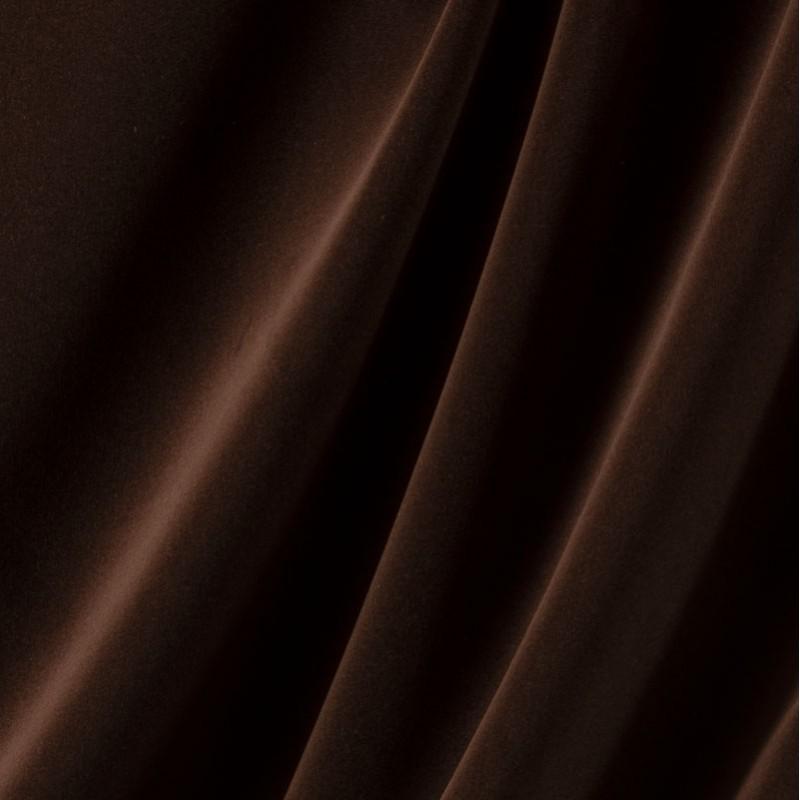 Tissu-velours-marron