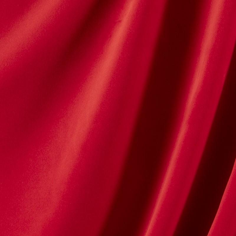 Tissu-velours-rouge