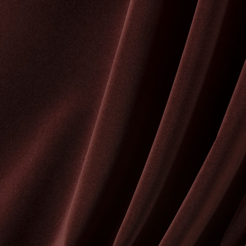 Tissu-velours-bordeaux