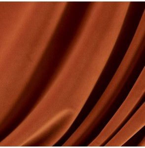 Tissu-velours-brique