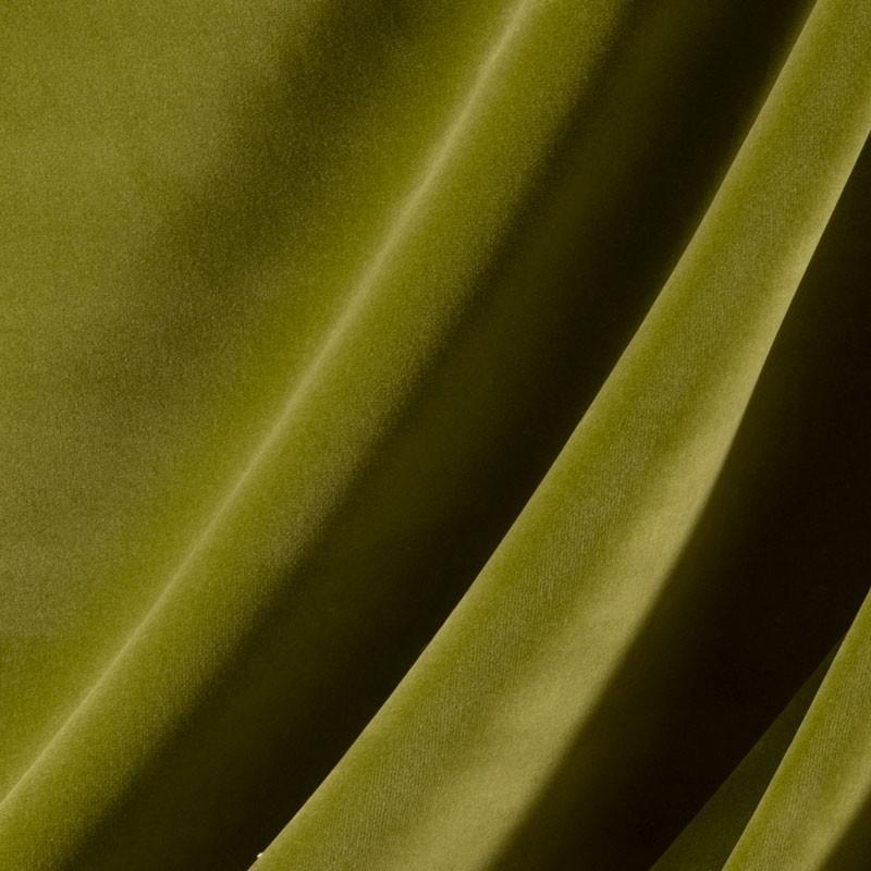 Tissu-velours-vert-clair