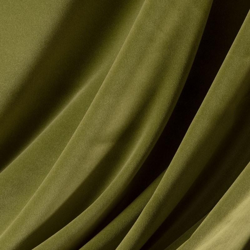 Tissu-velours-vert