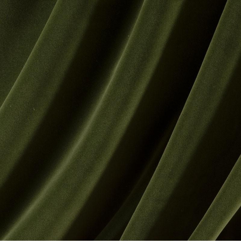 Tissu-velours-vert-foncé