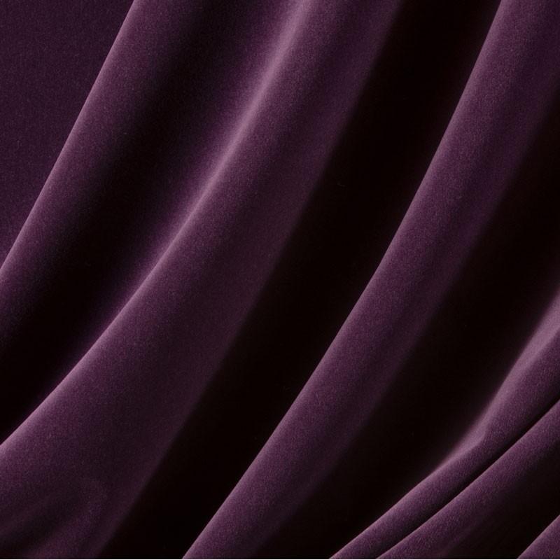 Tissu-velours-mauve