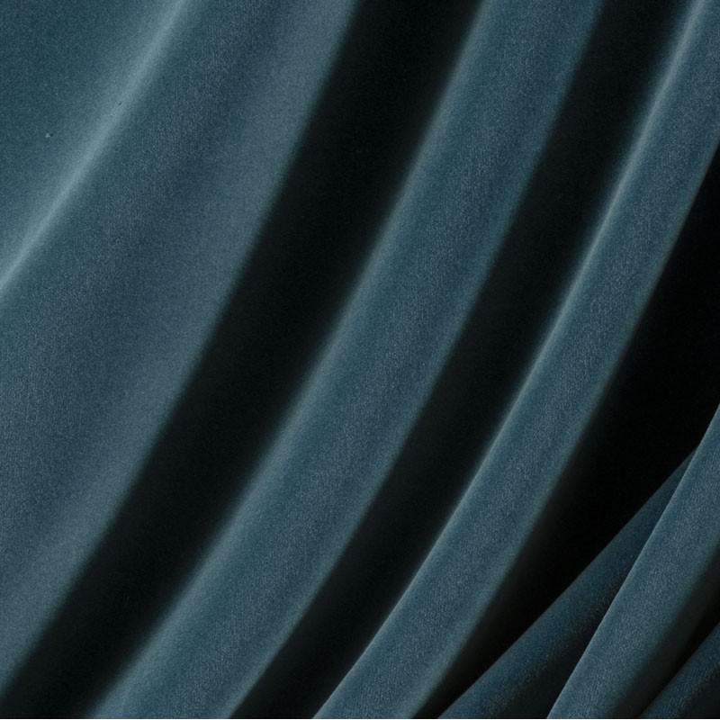 Tissu-velours-bleu