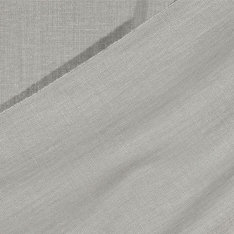 Tissu-lin-lourd-uni-gris