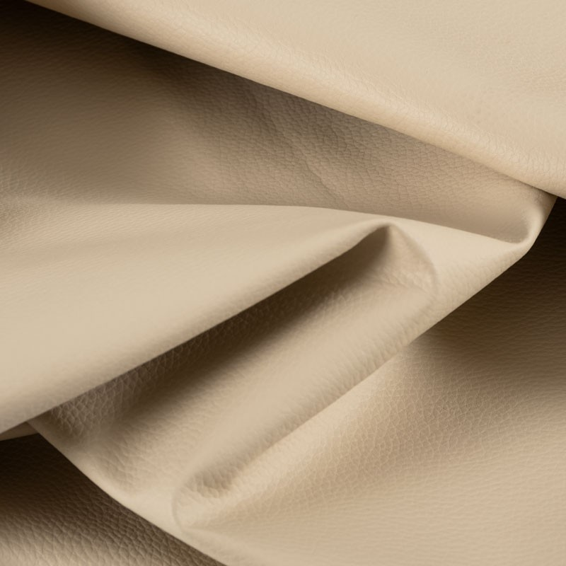 Tissu-simili-cuir-Texas-beige-clair