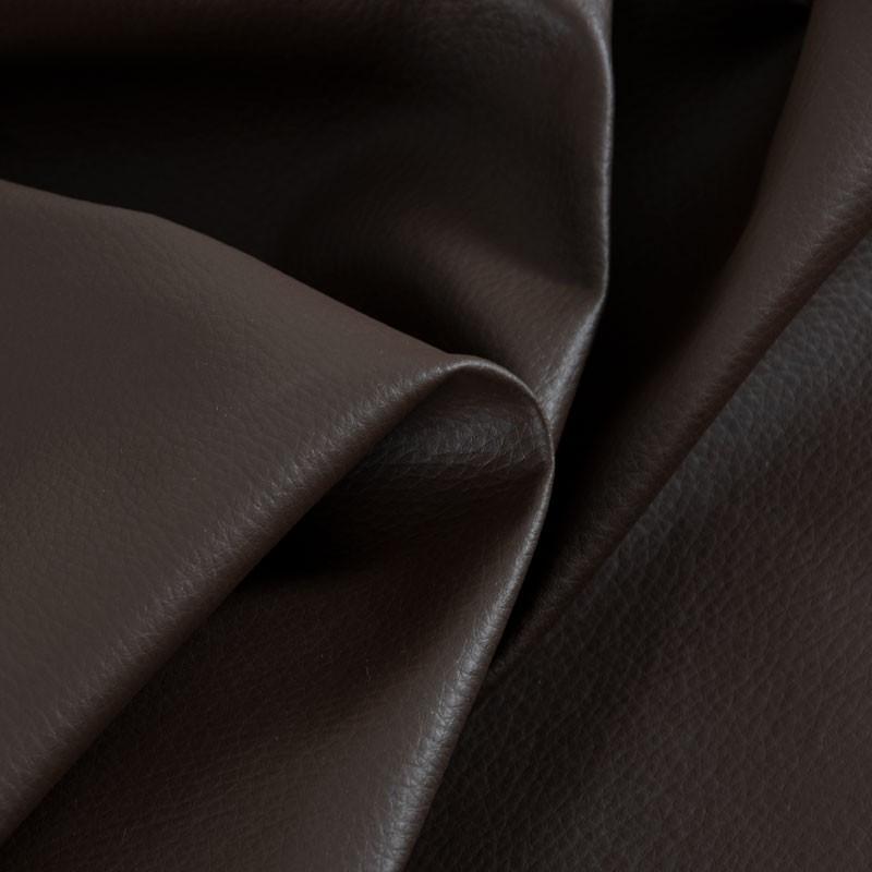 Tissu-simili-cuir-Texas-marron