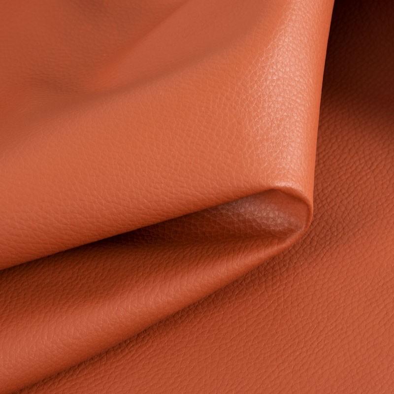 Tissu-simili-cuir-Texas-brique