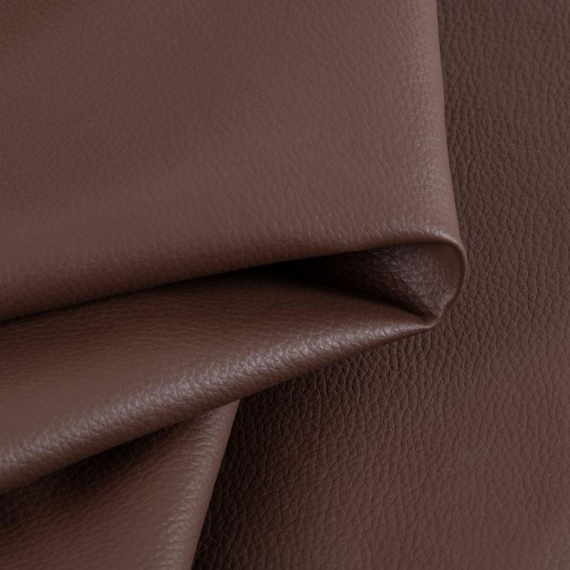 Tissu-simili-cuir-Texas-brun