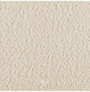 Tissu Alpa bouclette blanc