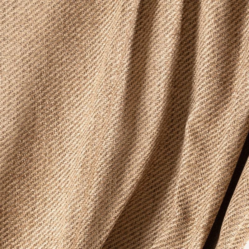 Tissu-velours-chenille-chiné-beige