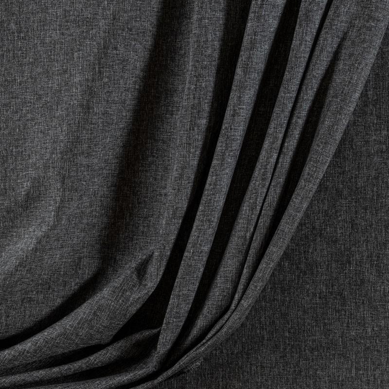 Tissu-300cm-polyester-chiné-gris-foncé