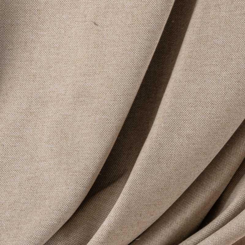 Tissu-lin-coton-chiné-taupe-clair