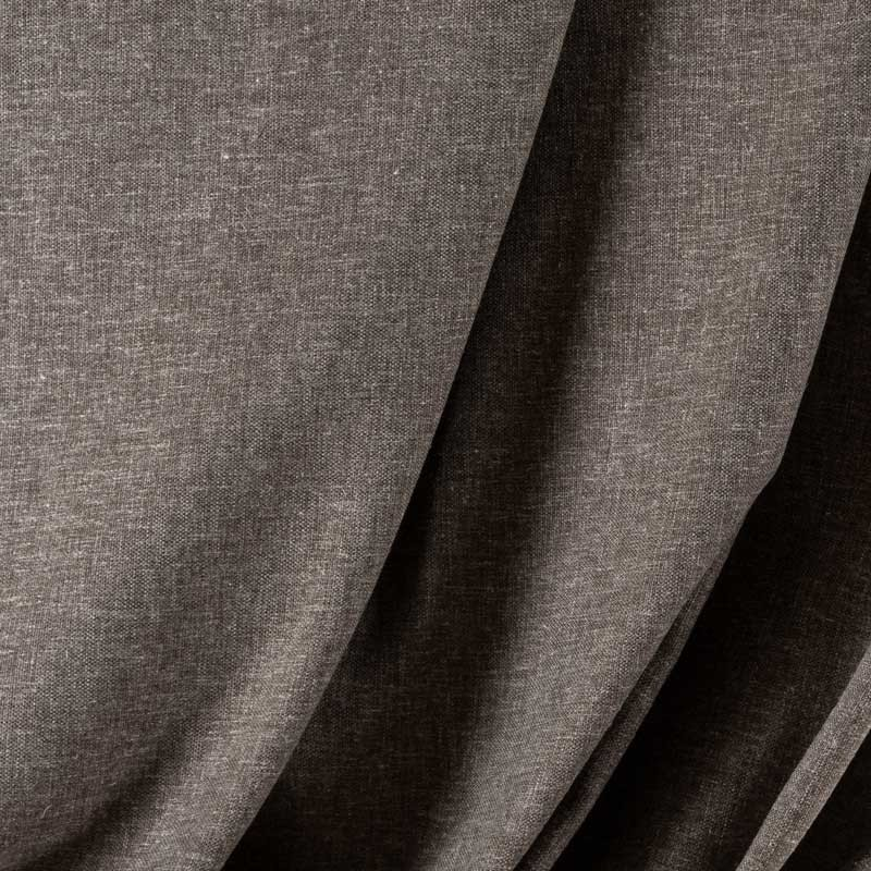 Tissu-lin-polyester-gris-chiné