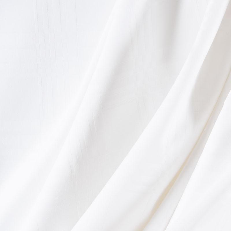Tissu-280cm-coton-nappe-motif-géométrique-blanc