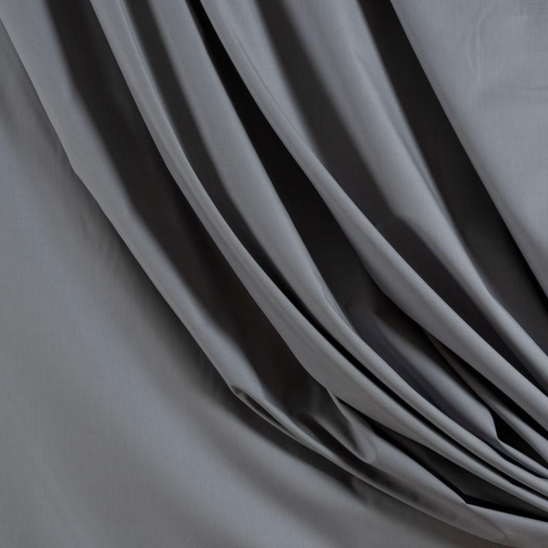 Tissu-280cm-percale-de-coton-gris