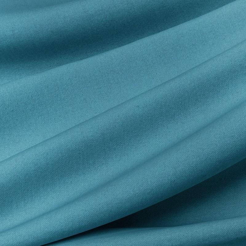 Tissu-280cm-coton-bachette-bleu-canard