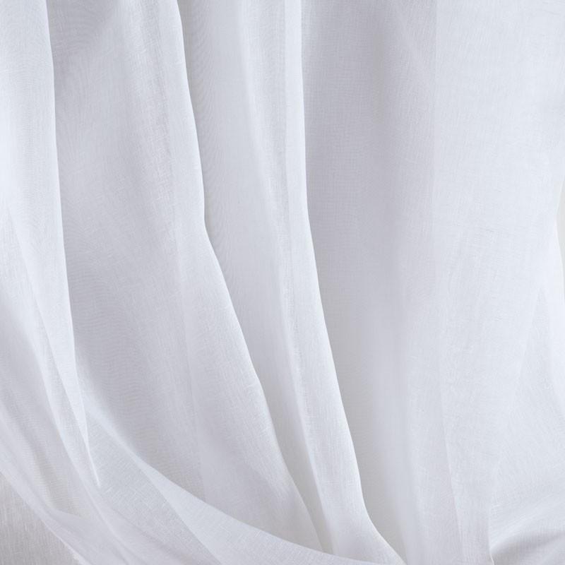 Tissu-300cm-étamine-de-lin-blanc