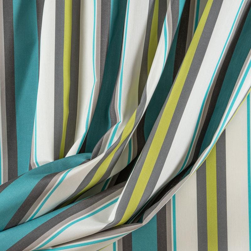 Tissu-320cm-outdoor-rayure-turquoise-vert
