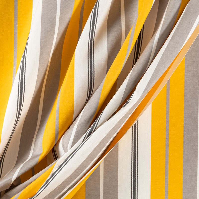 Tissu-320cm-outdoor-rayure-gris-jaune