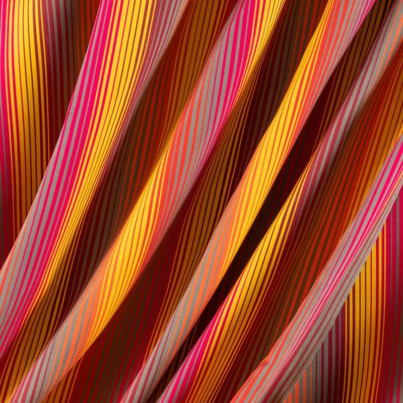 Tissu-320cm-outdoor-fine-rayure-multicolore-jaune