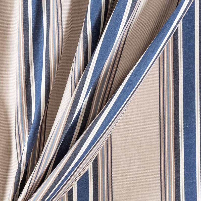 Tissu-320cm-outdoor-fine-rayure-bleu
