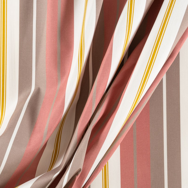 Tissu-320cm-outdoor-rayure-taupe-vieux-rose