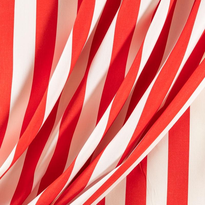 Tissu-320cm-outdoor-rayure-5/5-rouge
