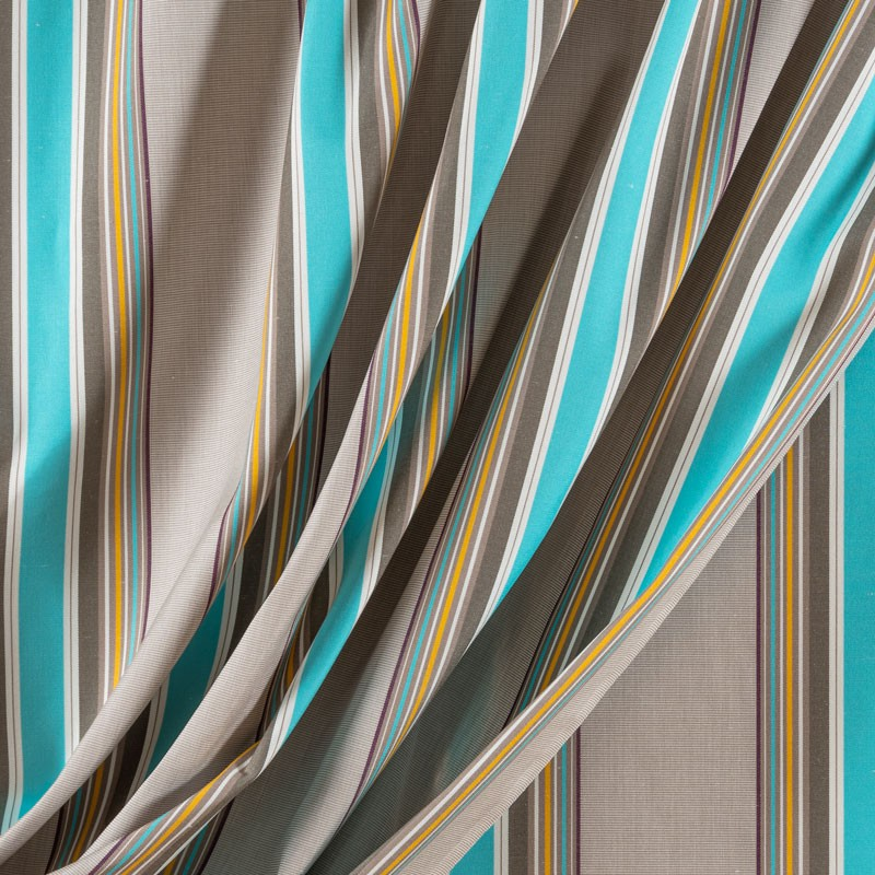 Tissu-320cm-outdoor-rayure-turquoise