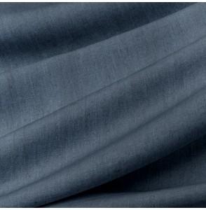 Tissu-lin-lavé-bleu-foncé-Washed-Linnen