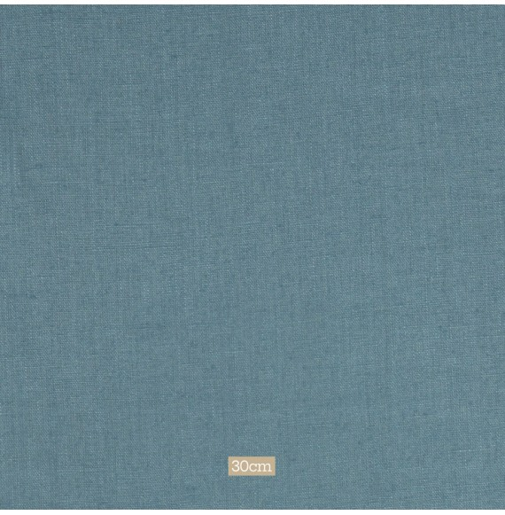 Tissu lin lavé bleu Washed Linnen