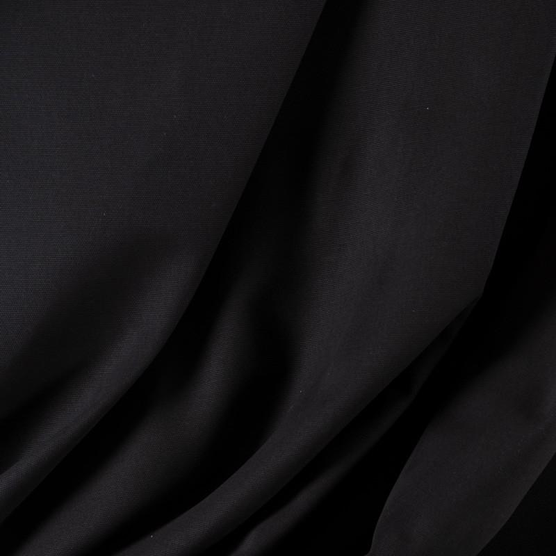 Tissu-280cm-Chartres-toile-lourde-coton-émerisé-noir