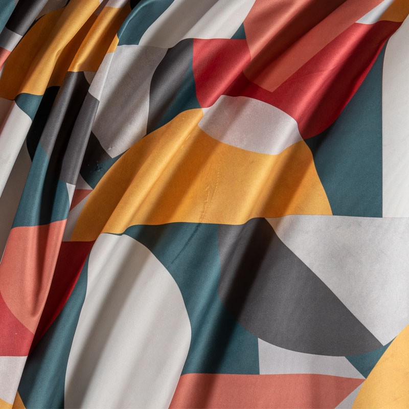 Tissu-velour-imprimé-géométrique-multicolor
